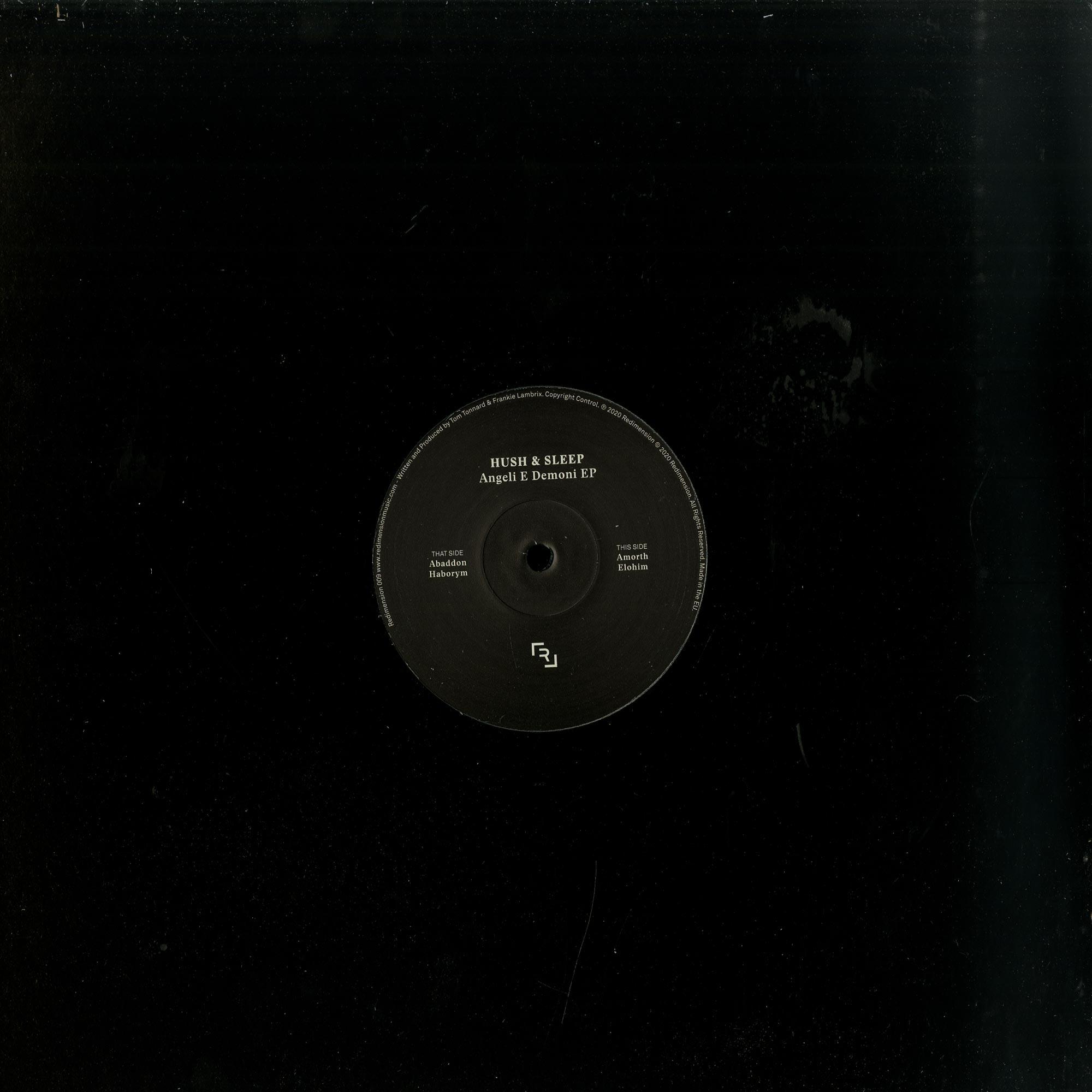 Hush Sleep - ANGELI E DEMONI EP