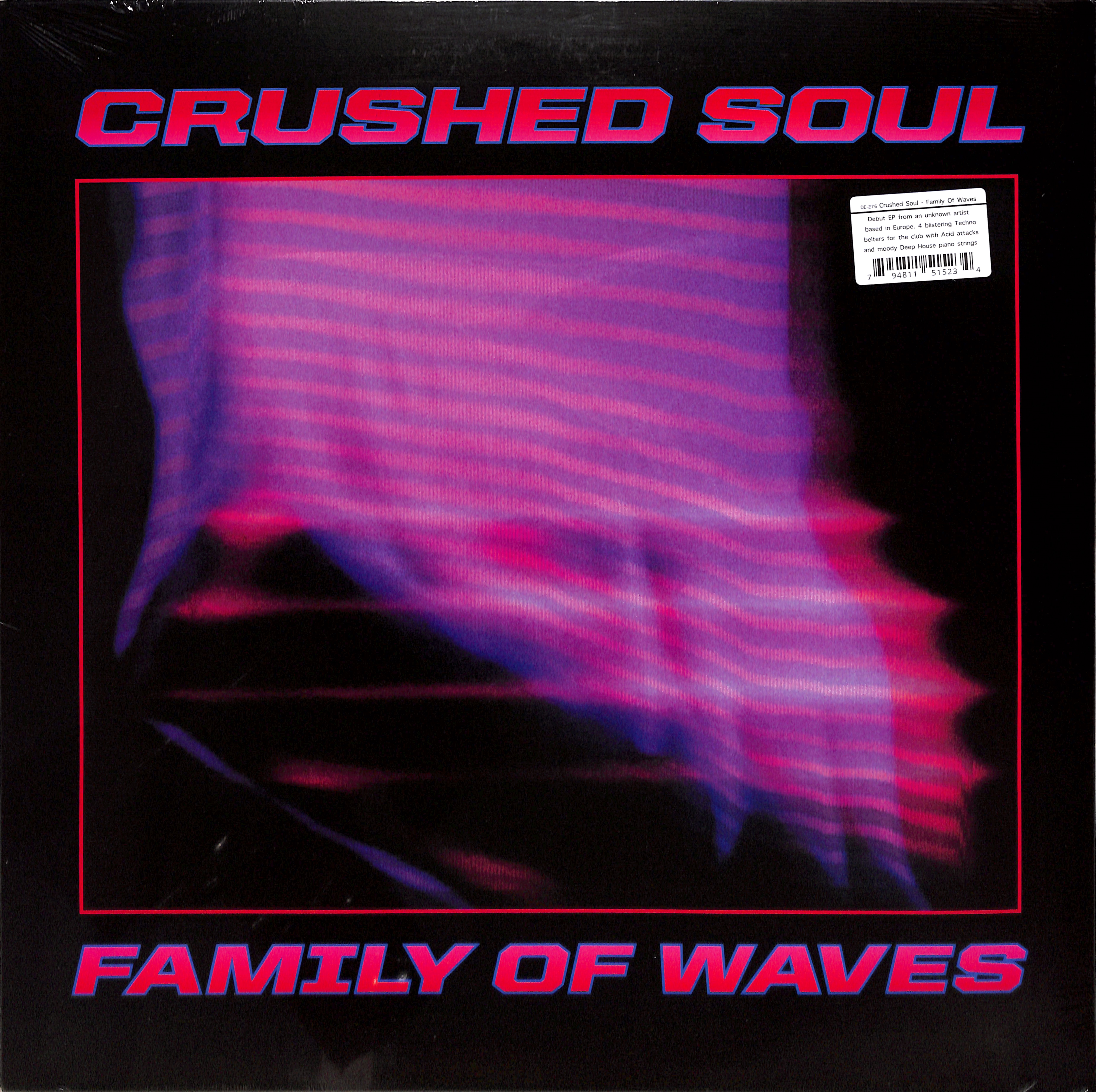 Crushed Soul aka Steffi - FAMILY OF WAVES EP