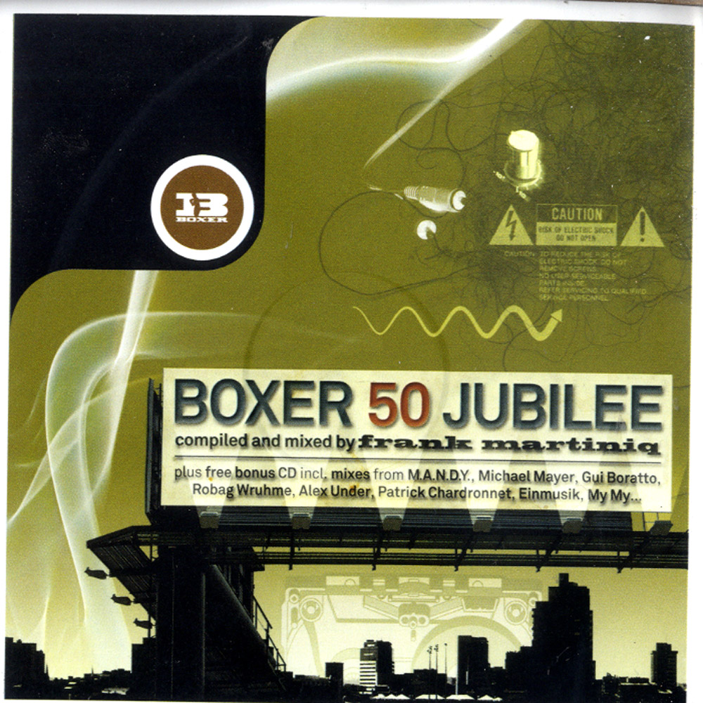 V/A compiled & mixed by Frank Martiniq - BOXER 50 JUBILEE