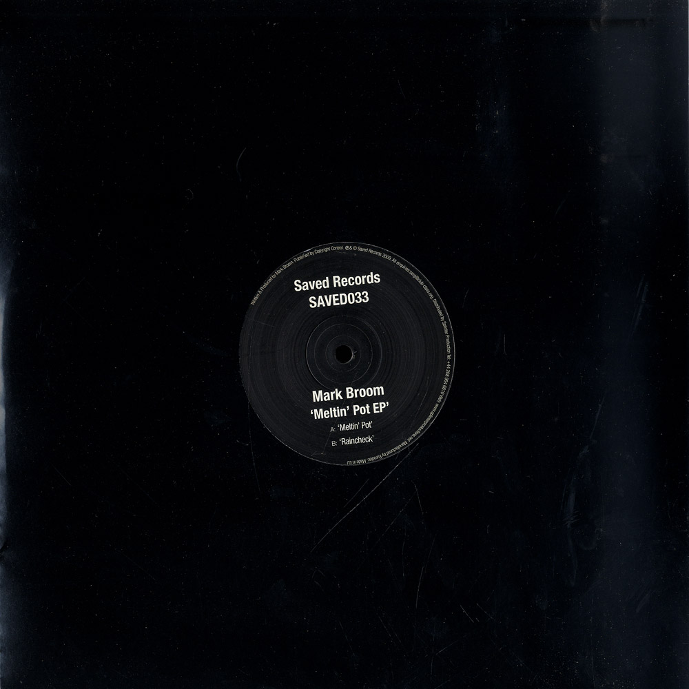 Mark Broom - MELTING POT EP