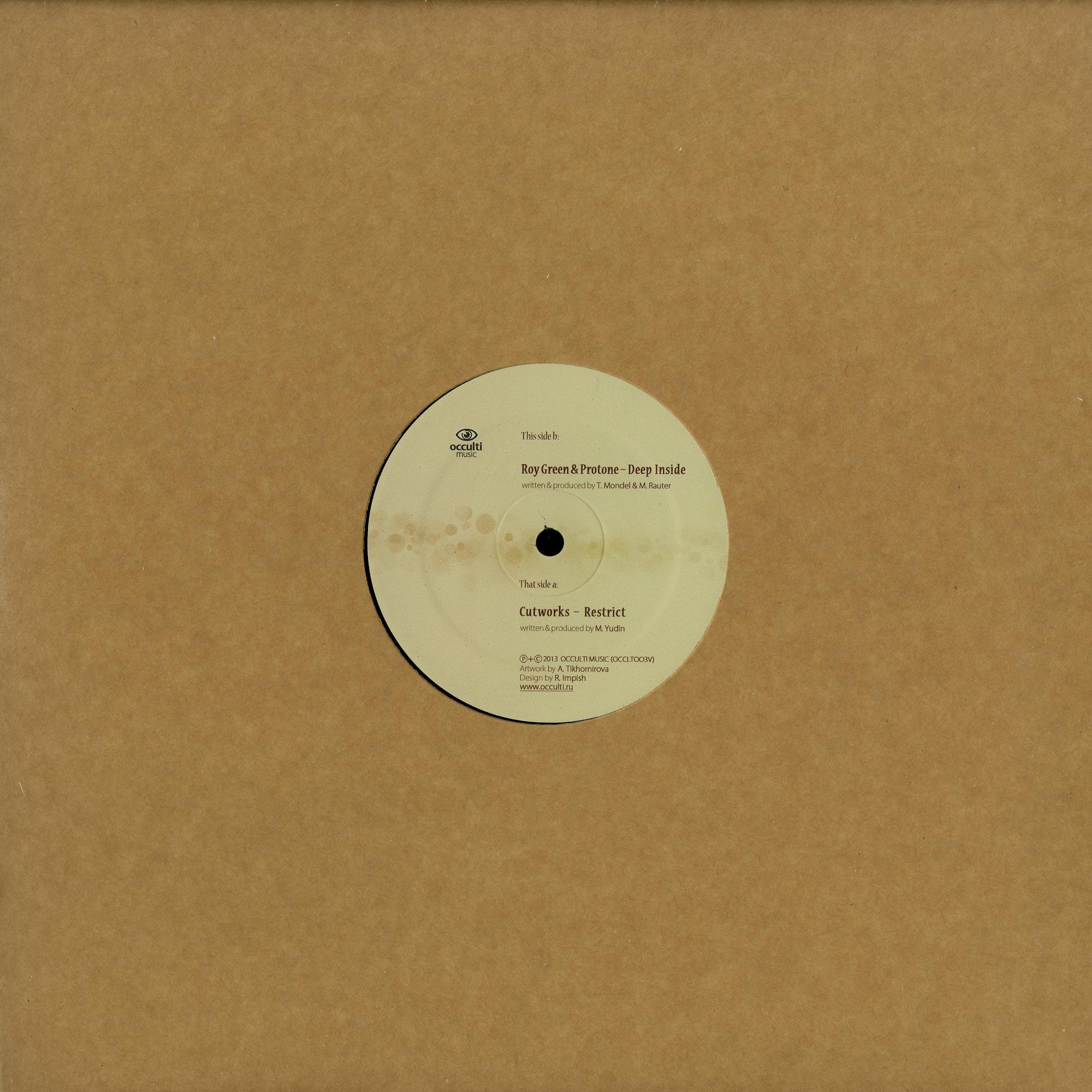 Cutworks / Roy Green & Protone - RESTRICT / DEEP INSIDE