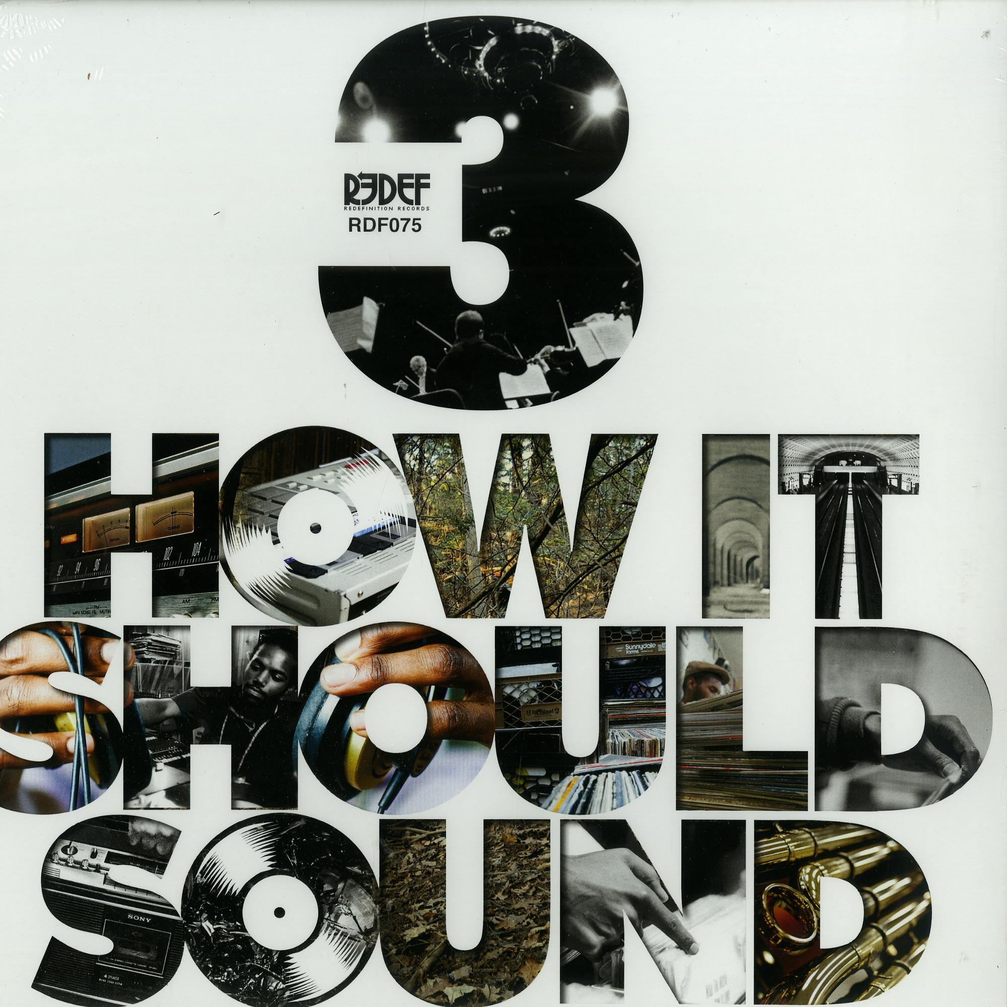 Damu The Fudgemunk - How It Should Sound Volume 3
