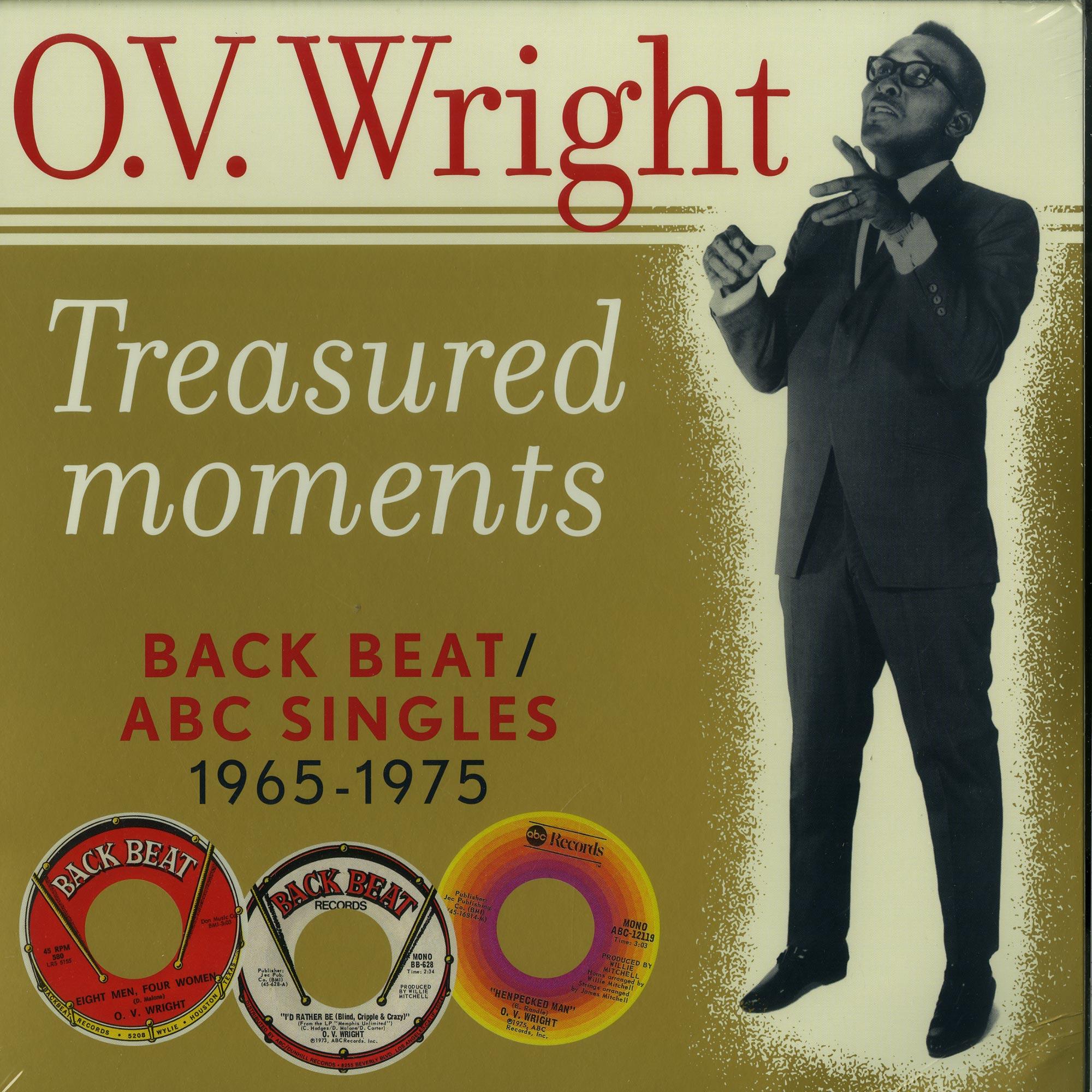 O.V. Wright - TREASURED MOMENTS